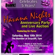 Havana Nights Anniversary Party and Live Auction